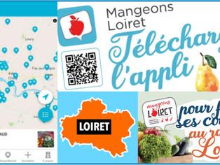 """Loiret - Lancement d'une appli et d'un guide des producteurs locaux pour """"manger Loiret"""""""