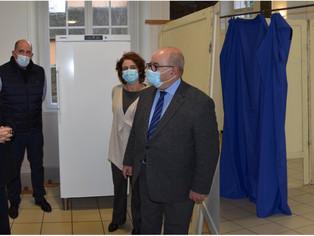 À Montargis, une salle de vaccination... en attendant les vaccins