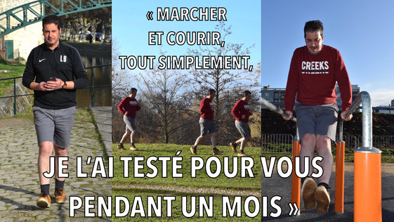 """Sport santé : """"marcher, courir, je l'ai testé pour vous pendant un mois"""""""