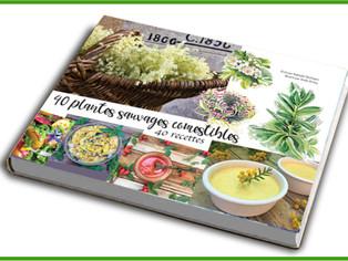 """Sortie du livre """"40 plantes sauvages, 40 recettes"""""""