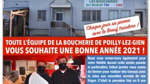 RÉOUVERTURE DU BOEUF TRICOLORE LE 19 JANVIER