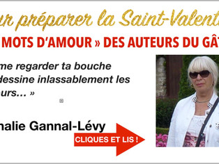 """Nadine Gannat-Lévy : """"de mes sentiments vont naître l'imagination, voire le fantasme..."""""""