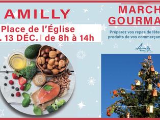 À Amilly, préparez les fêtes sur votre marché du dimanche matin