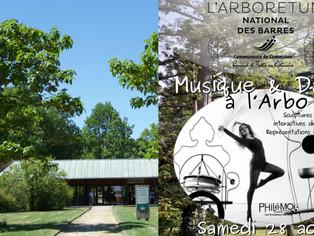 Nogent-sur-Vernisson - Musique et danse à l'Arboretum des Barres le Samedi 28 août de 10h à 22h