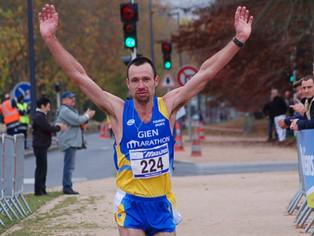 Course à pied - Le coureur giennois Laurent Beillevert, un « ogre » qui force le respect !