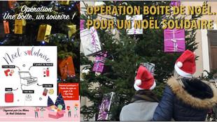 Opération boite de Noël pour un Noël solidaire dans le Gâtinais