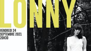 Amilly - Vendrdi 24 septembre, concert de Lonny, chanteuse folk
