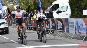 Cyclisme – Tour du Loiret : Léo Vincent (CC Etupes) remporte la 2e étape à Châtillon-sur-Loire…