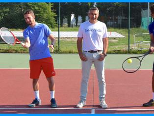 """Tennis - Sébastien Vatan, président du TC Gien : """"formation, qualité d'enseignement et élite..."""""""