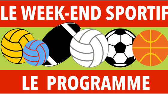 Programme du week-end sportif des 10 et 11 octobre
