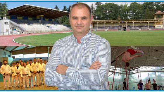 Éric Godey, vice-président, chargé aux sports, à l'Agglo : « L'Agglo a des projets en perspective… »