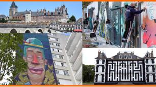 """À Gien, trois fresques monumentales """"street art"""" vont être peintes fin avril avec """"Label Valette"""""""