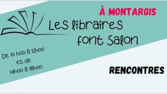 Les libraires de Montargis font salon ce samedi. Vous pouvez y rencontrer 16 auteurs !