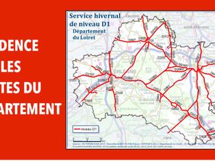 Routes départementales : le Loiret active sa cellule de crise
