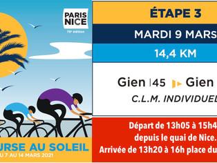Paris-Nice à Gien : un contre la montre pour faire le spectacle et peut-être faire la différence...