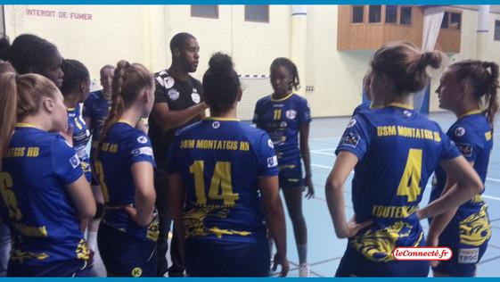 Handball – Nationale 3 : Montargis chute à Joué-lès-Tours (33-26)