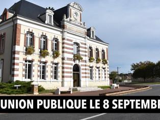 Chalette - Réunion publique le 8 septembre av. du Général Leclerc pour présenter les travaux prévus