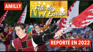 Covid-19 : à Amilly, la fête de l'Europe annulée pour la deuxième année consécutive