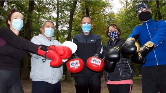 Sport santé : avec la boxe, l'exigence du geste, tout en se défoulant