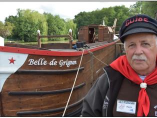 """Vous pourrez bientôt embarquer sur la """"Belle de Grignon"""""""