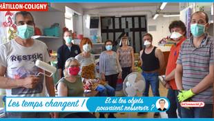 """Châtillon-Coligny - Le """"plus dans la benne !"""" de la recyclerie créative"""