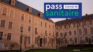 Montargis - Nouvel arrêté concernant le PASS SANITAIRE dans les salles municipales et équipements