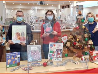 À Châlette, réouverture de la médiathèque aux couleurs de Noël