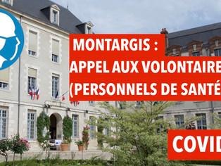 Montargis : appel aux volontaires (professionnels de santé) pour le centre de vaccination