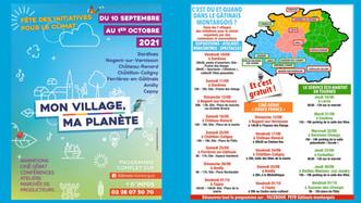 """Gâtinais - """"Mon village, ma planète"""", du 10/09 au 1/10, des animations sur tout le territoire"""