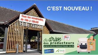 Montargis : un drive des producteurs locaux à la halle Girodet tous les vendredis