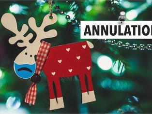 À Châlette, le marché de Noël est annulé