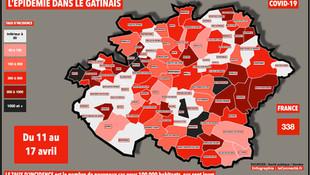 """Dans le Gâtinais, l'épidémie toujours en progression 13 jours après le début du """"3ème confinement"""""""