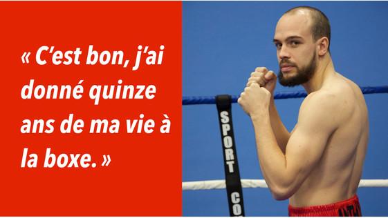Boxe – Anthony Chapat (Montargis) : «  J'en ai marre, j'arrête ! »