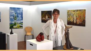 """Gien - Pour découvrir les artistes locaux, la galerie éphémère """"pARTage"""""""