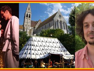 Les médiévales se préparent, c'est l'une des premières fêtes médiévales de l'année et el