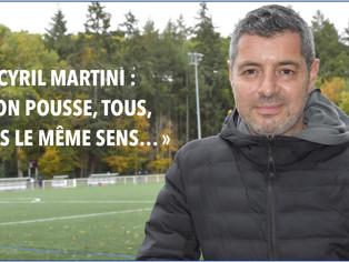 FOOTBALL - Le président de l'USM Montargis, Cyril Martini, expose son projet