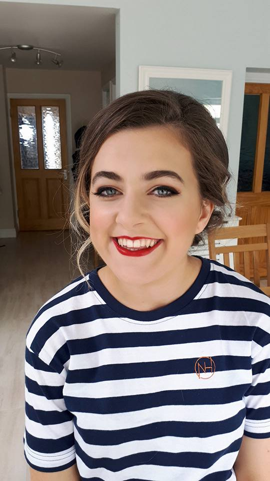 Debs makeup , hollywood glamour