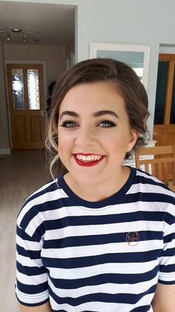 Debs makeup , hollywood glamour
