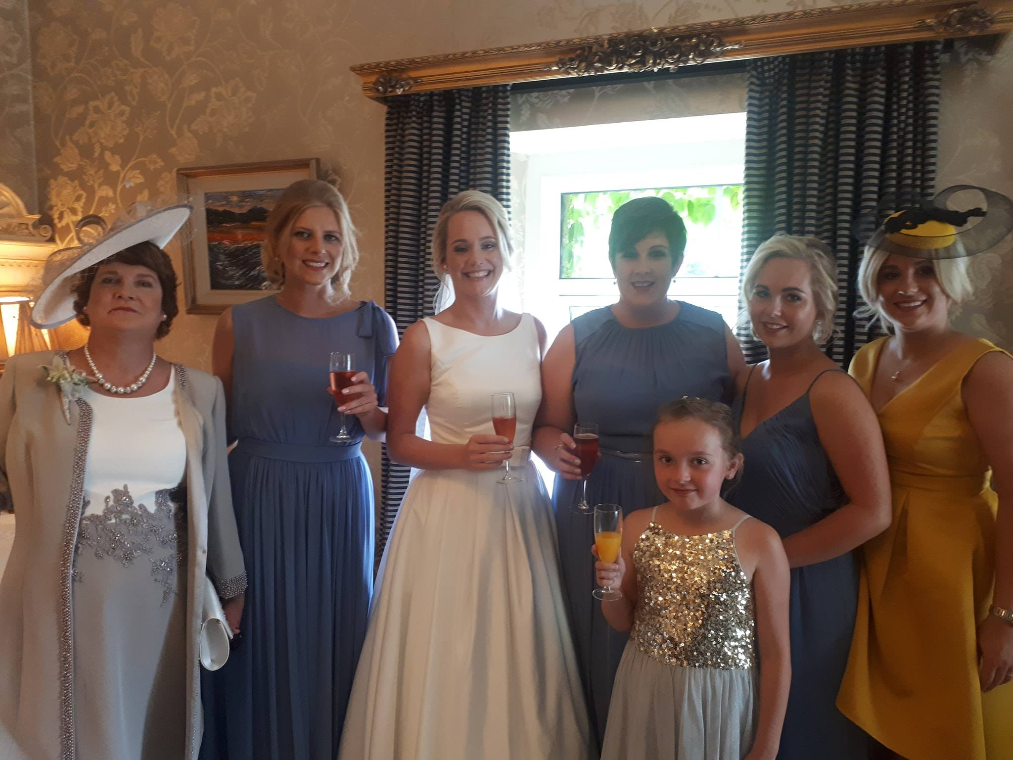 Mairead's Bridal party Killarney