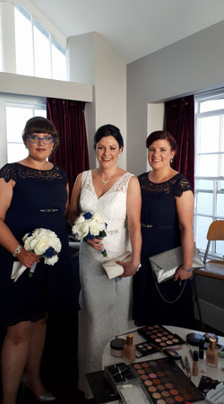 Lovely ladies all set to go