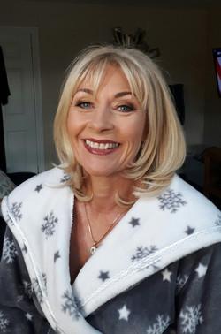 Elaine Communion day Makeup