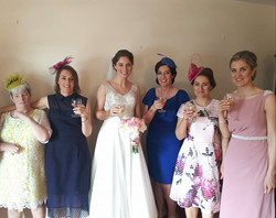 The gorgeous Siobhan and the O 'Connor ladies