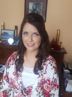 Beautiful Aine on her August wedding
