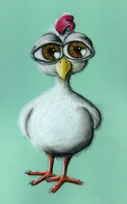 Verrücktes Huhn