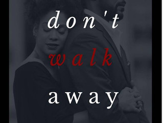 Don't Walk Away By Victoria Kennedy