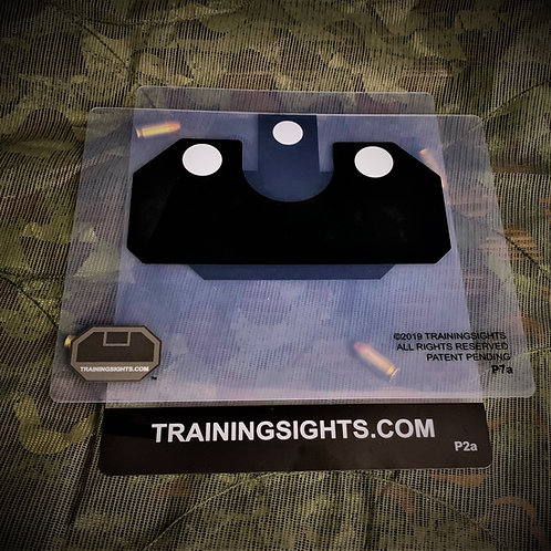 Pistol Sights, Two White Dots, U
