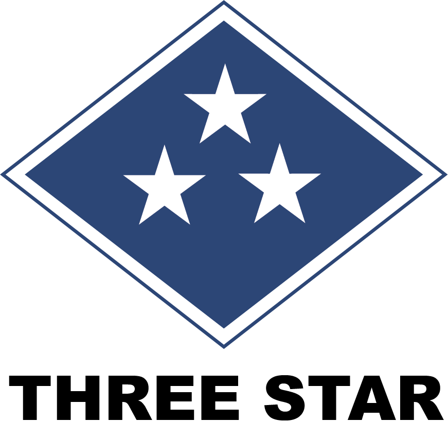 logo three star