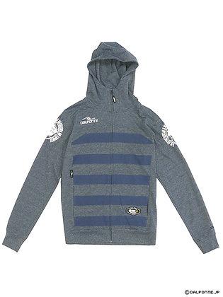 Stripe Zip Hoodie Sweat (DPZ-0197)