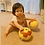 Thumbnail: Football Zoo Baby Cushion Ball - DOG