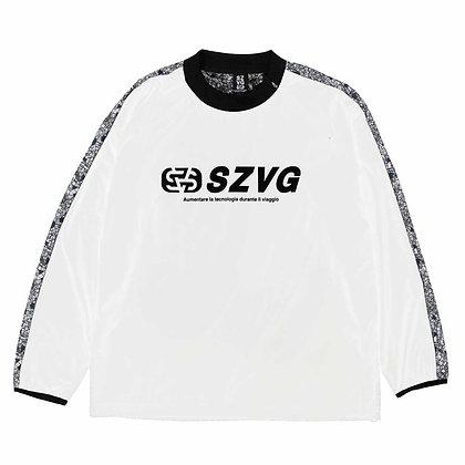 VIAGGIO Emblem Mesh Back Piste Shirt (VG-0009)
